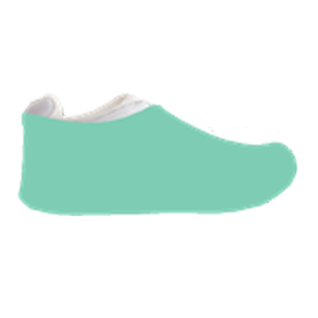 Lucite Green Sneakerskins Stretch Fit 12 Pairs