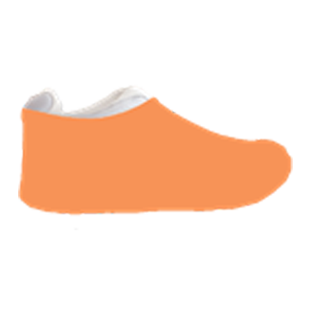 Tangerine Sneakerskins Stretch Fit 12 Pairs