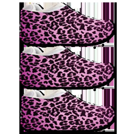 Pink Cheetah Sneakerskins Stretch Fit 3 Pack