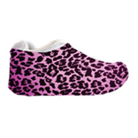 Pink Cheetah Sneakerskins Stretch Fit 12 Pairs