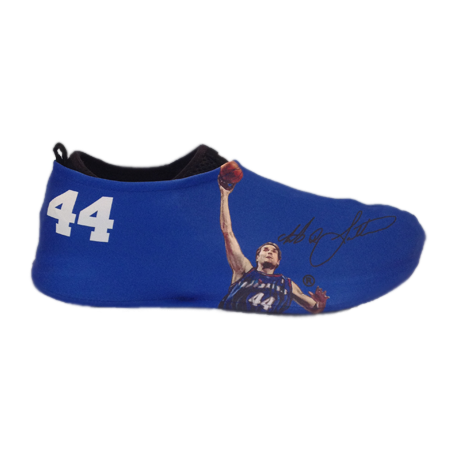 Christian Laettner Autographed Sneakerskins Stretch Fit 3 Pack