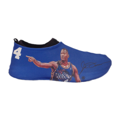 Joe Dumars Autographed Sneakerskins Stretch Fit