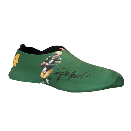 Brett Favre Autographed Sneakerskins Stretch Fit