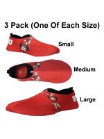 Jerry Rice (49ers) Sneakerskins Stretch Fit 3 Pack