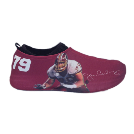 Jim Lachey Autographed Sneakerskins Red Stretch Fit 3 Pack