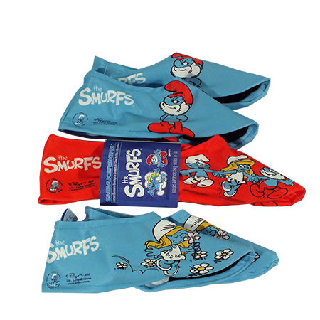 3 Pack Smurf Sneakerskins Youth Size 11-2