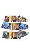 3 Pack Zombie Cars Sneakerskins Youth Size 11-2