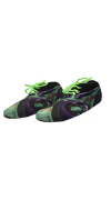 Zombie Cars Green Sneakerskins Stretch Fit